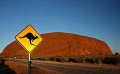 Eine Reise nach Australien