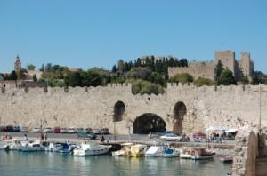 Hafen auf Rhodos