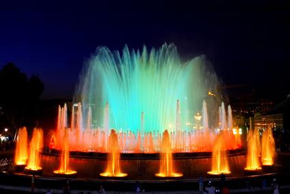 Magischen Brunnen von Montjuic