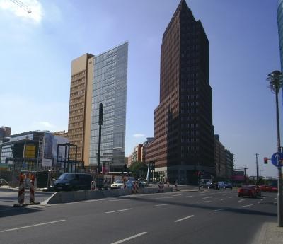 Hotels in der Geschichte des Potsdamer Platz