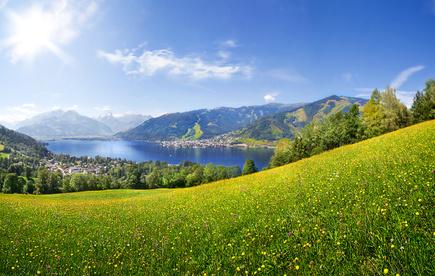 Zell am See in Österreich