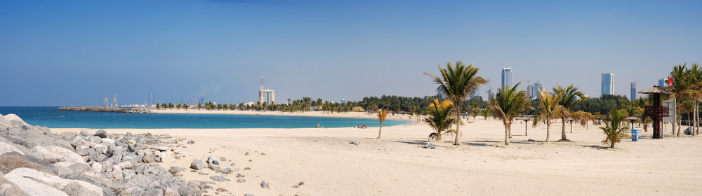 Dubai Al Mamzar Beach and Park